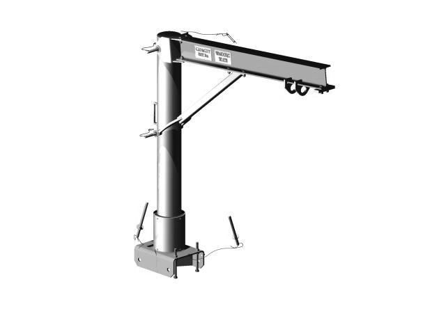 Davit Arm A100 Series Pro Bel