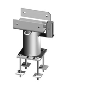 Davit Base - 200 Series - Bolt Through