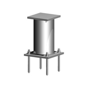 Davit Base - 600 Series - Adhesive