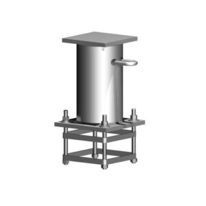 Davit Base - 600 Series - Cast In Cage